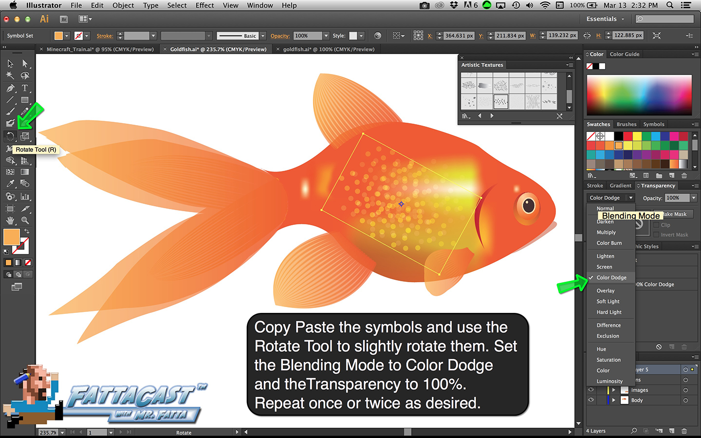 Goldfish Step 42
