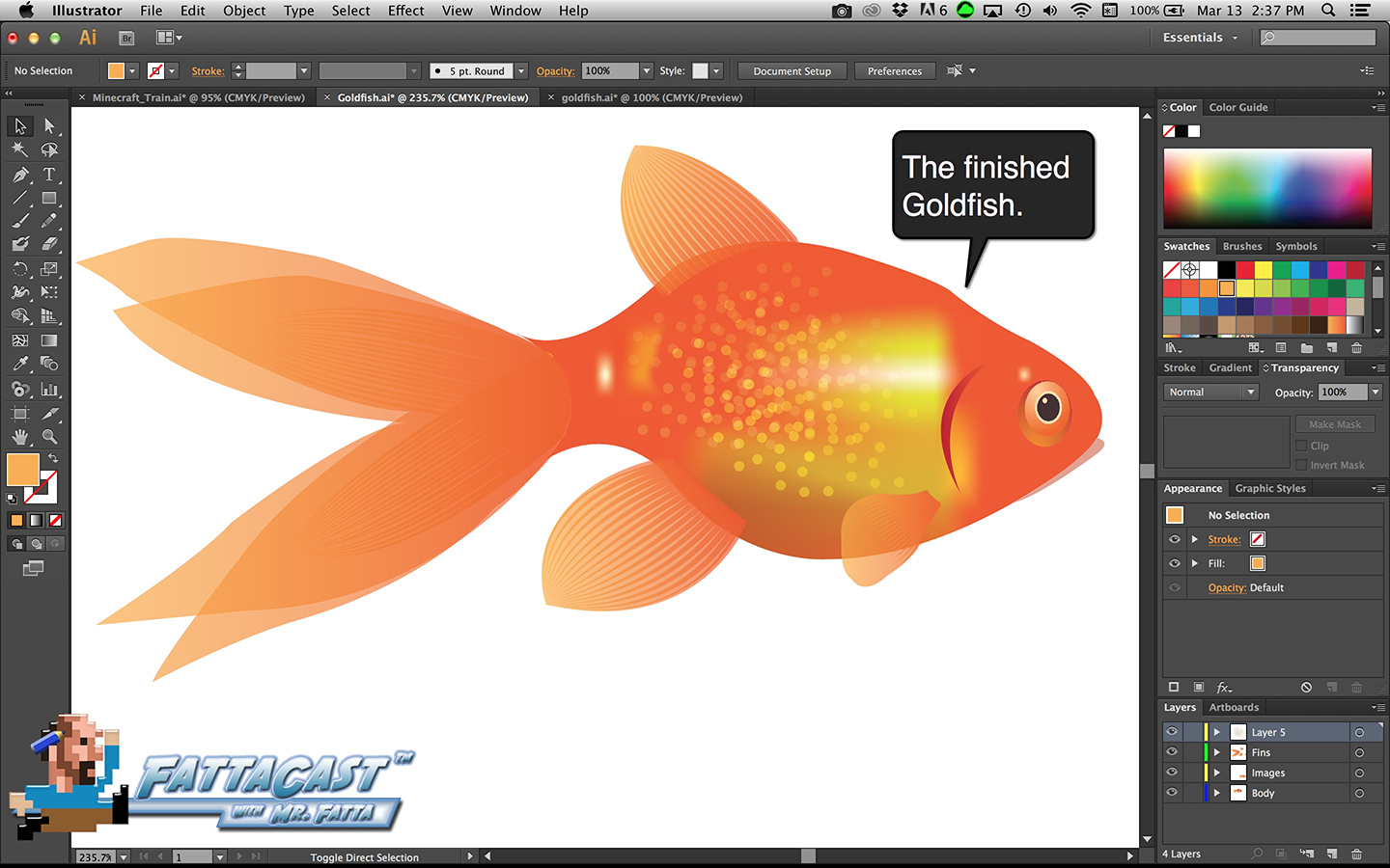 Goldfish Step 43