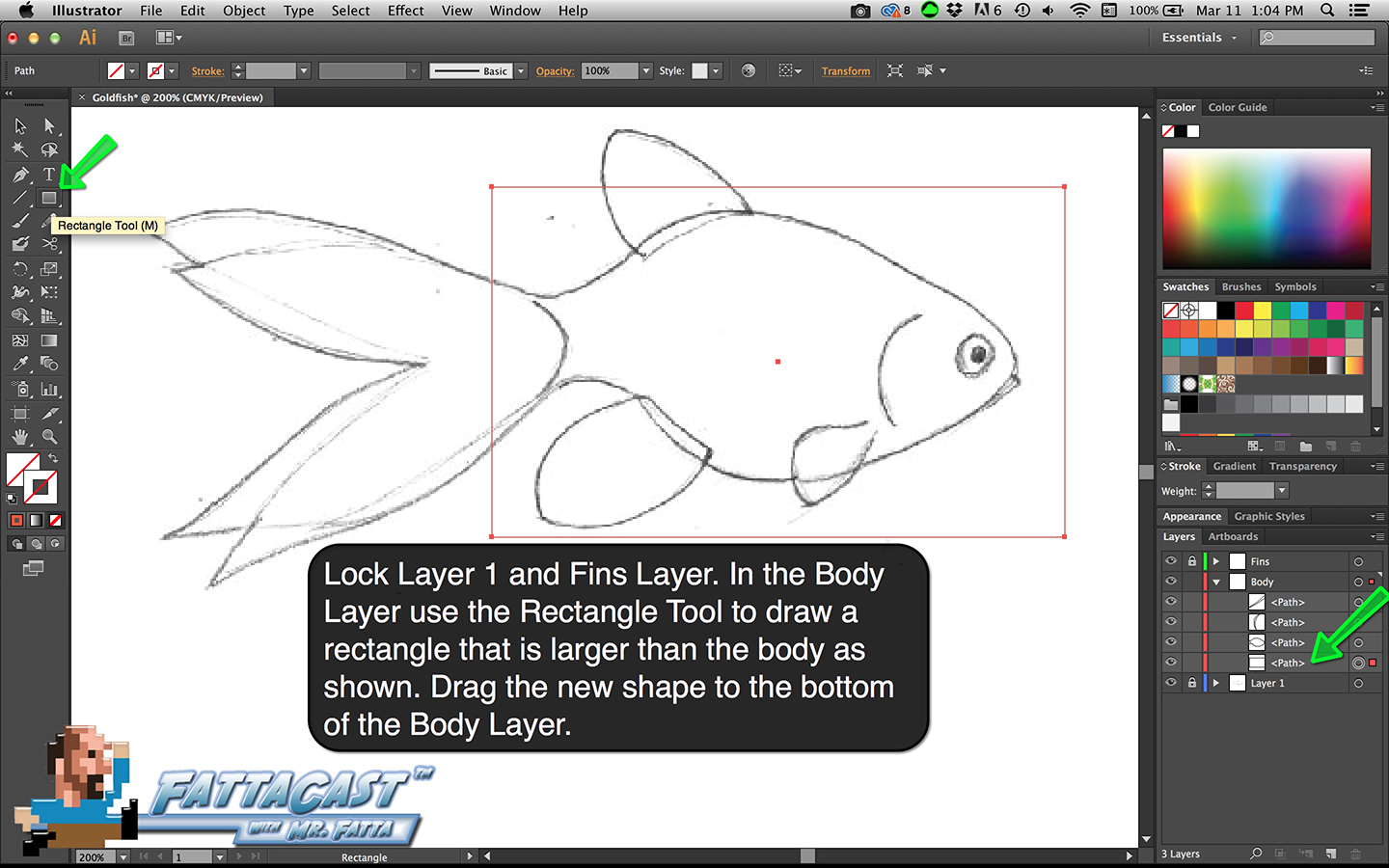 Goldfish Step 5