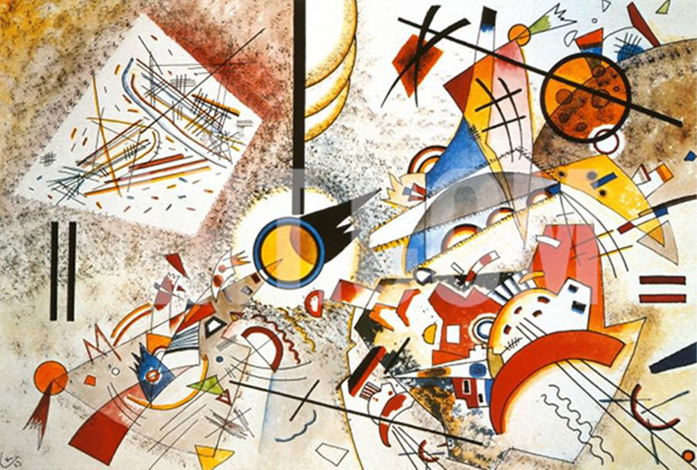 Kandinsky-Bustling-Aquarelle