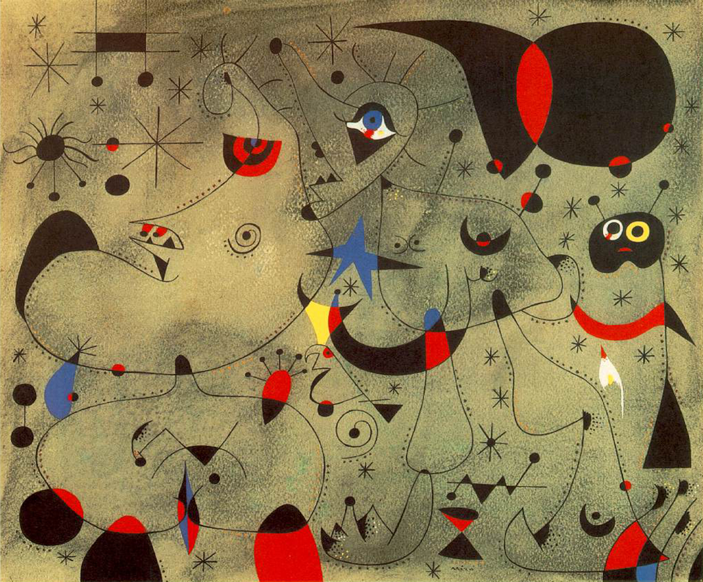 Nocturne-Joan-Miro-painting-4