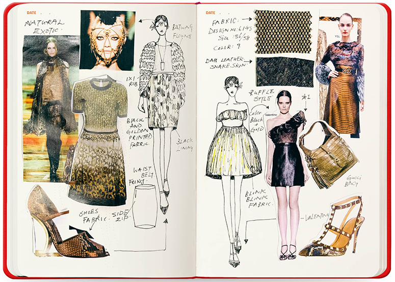 Fashion Sketchbook Mr Fatta