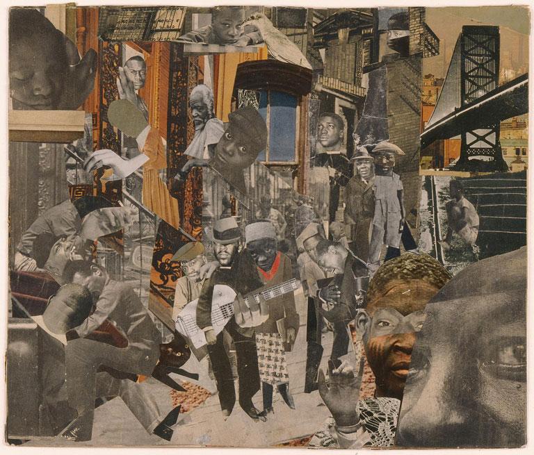 Romare Bearden, The Street, circa 1964