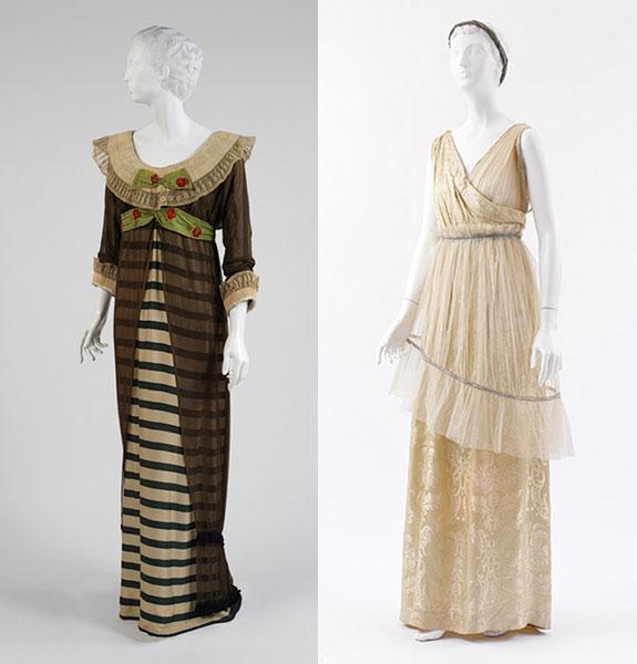 Poiret Evening Dress and Ensemble