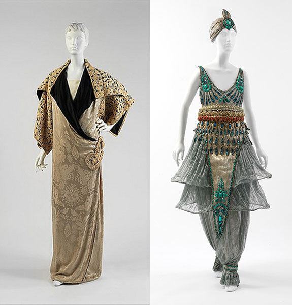 Poiret Opera Gown and Costume Design