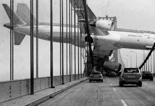 Plane Crash bridge