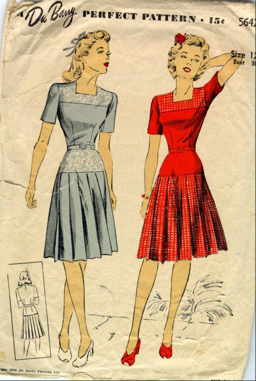 pleated1940s
