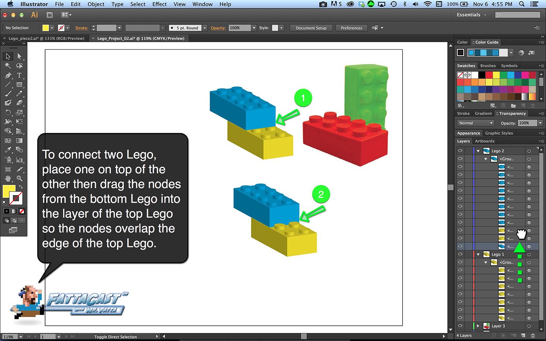 Lego Block Step 10