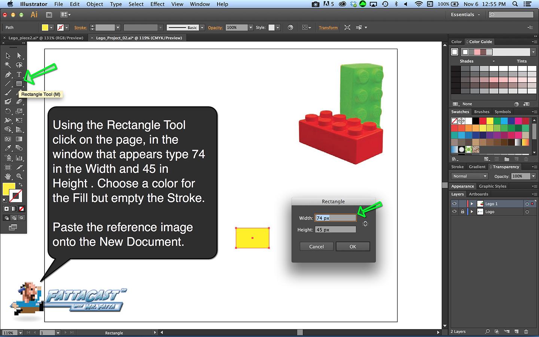 Lego Block Step 3