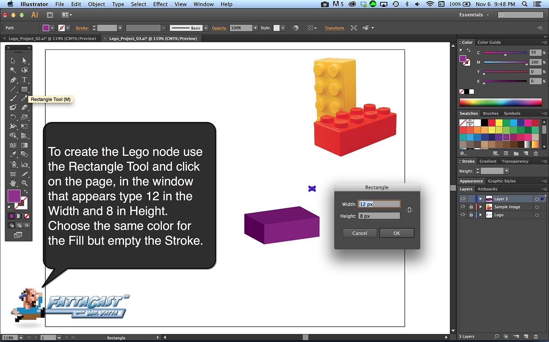 Lego Block Step 4