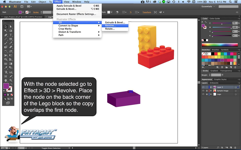Lego Block Step 5