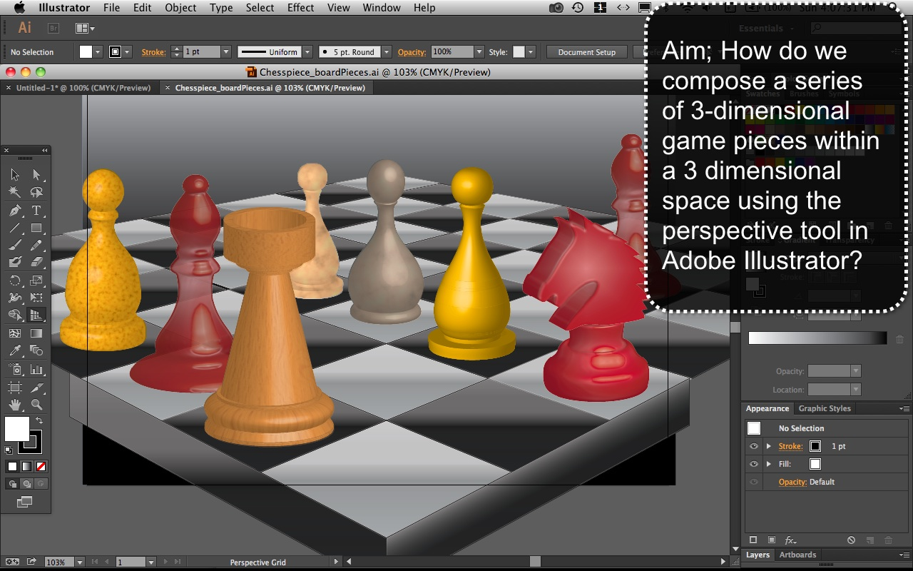 Chess Piece Mr Fatta Create A Detailed Circuit Board Text Effect In Adobe Illustrator Gameboard1