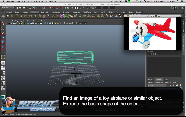 maya-extrude-airplane-step-01