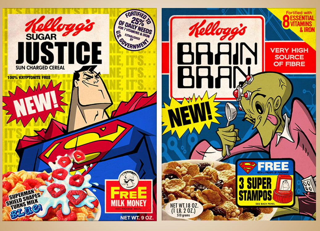 Cereal Box Format