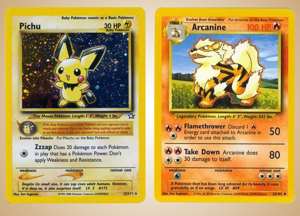 Pokemon Card Format