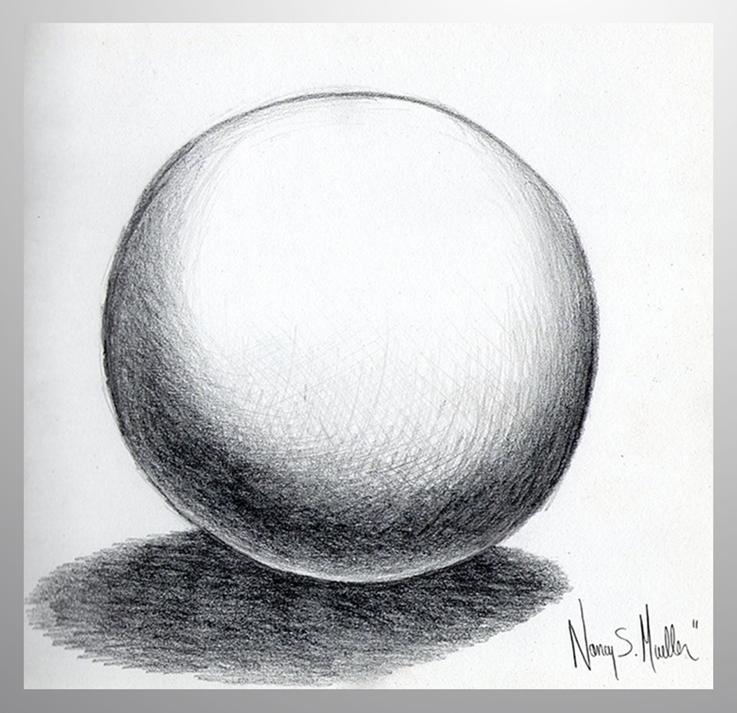 MuellerN_Perfect_Ball_With_Shadow